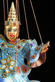 Marioneta asiática Imagen de archivo