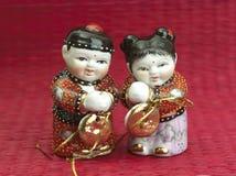 Marioneta china del Año Nuevo foto de archivo