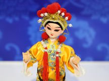 Marioneta de la ópera de Pekín Imágenes de archivo libres de regalías