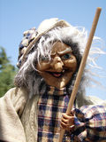 Marioneta de la bruja foto de archivo
