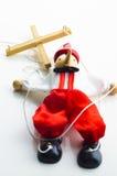 Marioneta de la muñeca Imagen de archivo libre de regalías