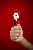 Marioneta de la Navidad Imágenes de archivo libres de regalías