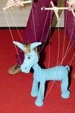 Marioneta de la secuencia del burro Imágenes de archivo libres de regalías