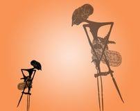 Marioneta de la sombra: Vector Imagenes de archivo