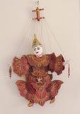 Marioneta de madera Imagen de archivo libre de regalías