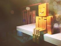 Marioneta de madera Fotos de archivo libres de regalías