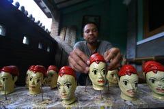 Marioneta de mano Imagen de archivo libre de regalías