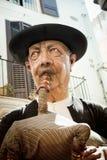 Marioneta de papel gigante del mache Fotos de archivo libres de regalías