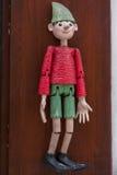 Marioneta de Pinocchio fotografía de archivo