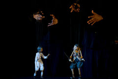 Marioneta de Semathai Fotos de archivo