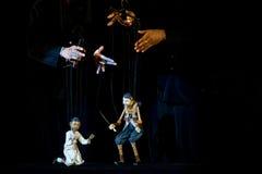 Marioneta de Semathai Fotografía de archivo