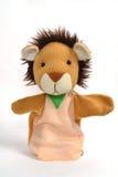 Marioneta del león Fotografía de archivo