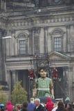 Marioneta gigante en Berlín Foto de archivo libre de regalías