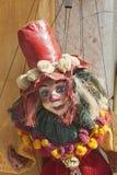 Marioneta griega con el sombrero Imágenes de archivo libres de regalías