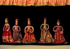 Marioneta india Imagen de archivo