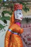 Marioneta la India Fotos de archivo libres de regalías
