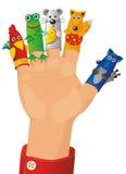 Marioneta-muestre Fotos de archivo libres de regalías