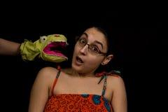 Marioneta penetrante Imágenes de archivo libres de regalías