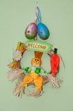 Marioneta rellena de la paja Imagen de archivo libre de regalías