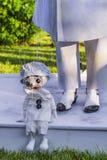 Marioneta y amo Fotos de archivo