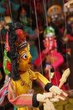 Marionetas asiáticas Foto de archivo