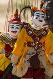 Marionetas birmanas - Myanmar Imagenes de archivo