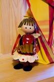 Marionetas coloridas del metal Imágenes de archivo libres de regalías