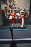 Marionetas de barra chinas (21ros UMNIMA) Foto de archivo libre de regalías