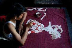 Marionetas de cuero fotos de archivo libres de regalías