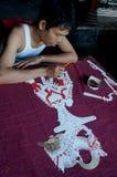 Marionetas de cuero imagen de archivo libre de regalías