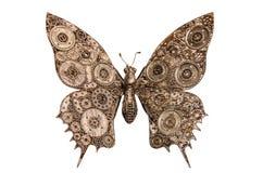 Marionetas de la mariposa del hierro Imágenes de archivo libres de regalías