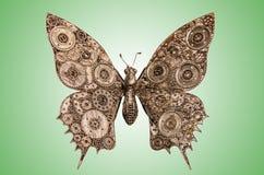 Marionetas de la mariposa del hierro Fotos de archivo