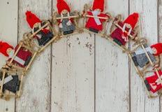 Marionetas de la Navidad Fotos de archivo libres de regalías