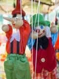Marionetas de la secuencia Imagen de archivo libre de regalías