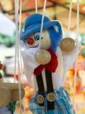Marionetas de la secuencia Foto de archivo libre de regalías