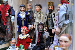 Marionetas de las marionetas Imagenes de archivo