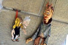 Marionetas de las marionetas Fotografía de archivo libre de regalías