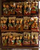 Marionetas de papel del Uzbek Foto de archivo libre de regalías