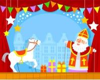 Marionetas de Sinterklaas Fotografía de archivo