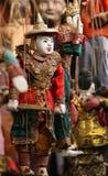 Marionetas del birmano de Coloful Fotografía de archivo libre de regalías