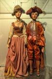 Marionetas del teatro Fotografía de archivo