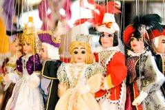 Marionetas europeas Foto de archivo libre de regalías