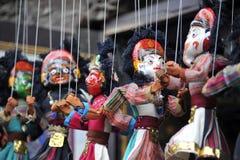Marionetas locales únicas Fotos de archivo libres de regalías