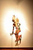 Marionetas tailandesas de la sombra Imagen de archivo libre de regalías