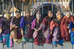 Marionetas tradicionales de la artesanía en venta fotos de archivo libres de regalías