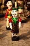 Marionetas vietnamitas del agua Imágenes de archivo libres de regalías