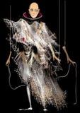 Marionete de Ghost, criança calva Fotografia de Stock Royalty Free