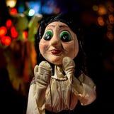 Marionete dos povos - imagem Personagem impressionante foto de stock