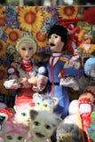 Marionetka przy jarmarkiem Obraz Royalty Free