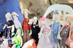 Marionetka przy jarmarkiem Fotografia Royalty Free